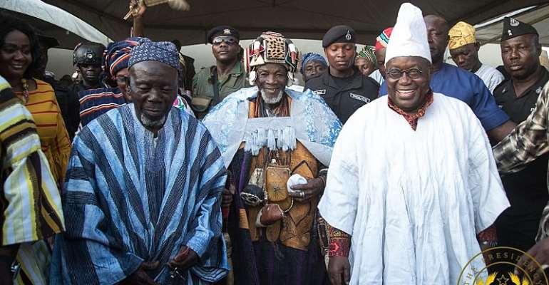 Akufo-Addo enskinned as 'Dagbon Malti-Naa Abudani I'