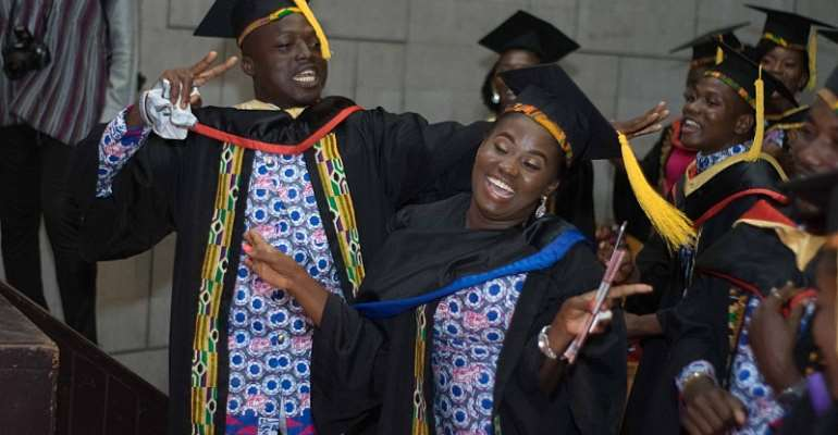 Abrantie College Holds 12th Graduation; Upbeat About Expanding Across Africa