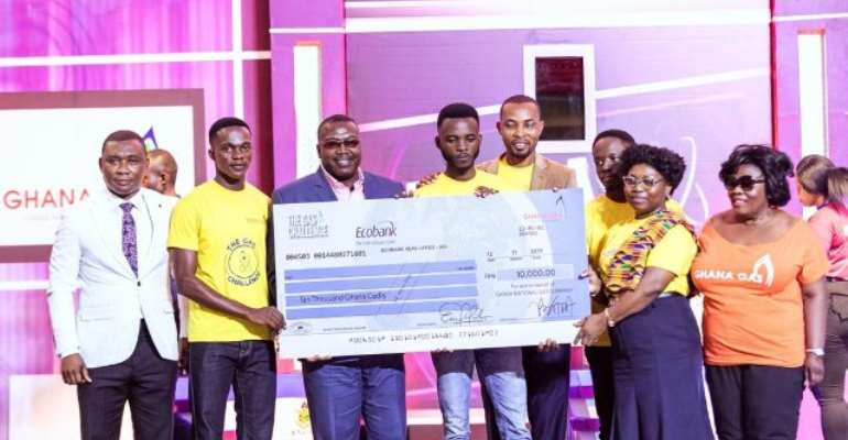 UMAT beatsKNUST to win maiden tertiary edition of the Gas Challenge Competition