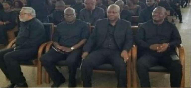 Rawlings debunks alleged bad blood with Mahama