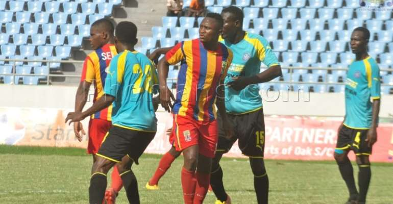 Hearts Of Oak's Anniversary Match With Wa All Stars End In A Stalemate