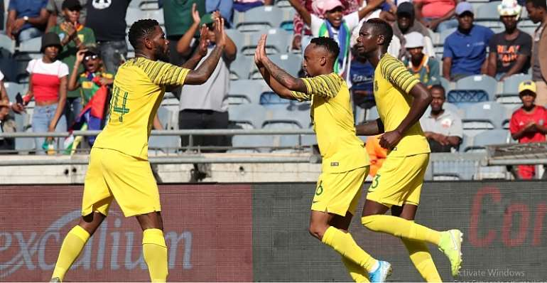 2021 AFCON Qualifiers: South Africa Beat Sudan, Senegal On Song In eSwatini