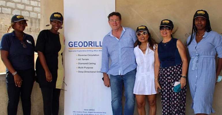 Geodrill Backs Construction Of A Modern Complex For GBV Victims