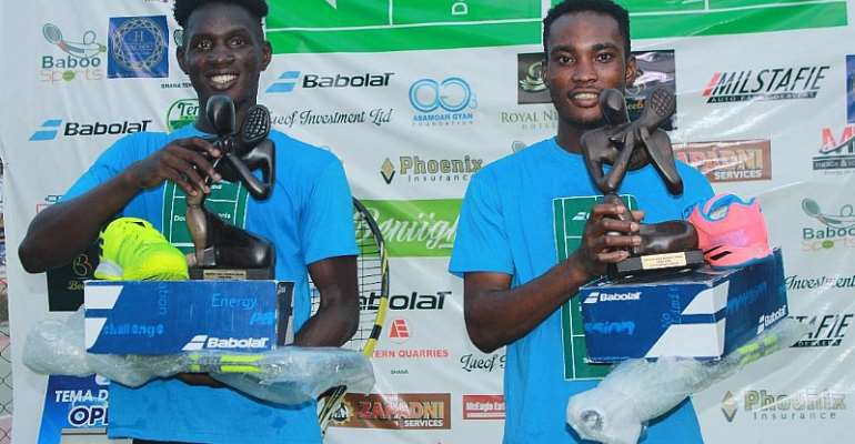 Acquah And Totimeh Claim Tema Babolat Doubles Open Title