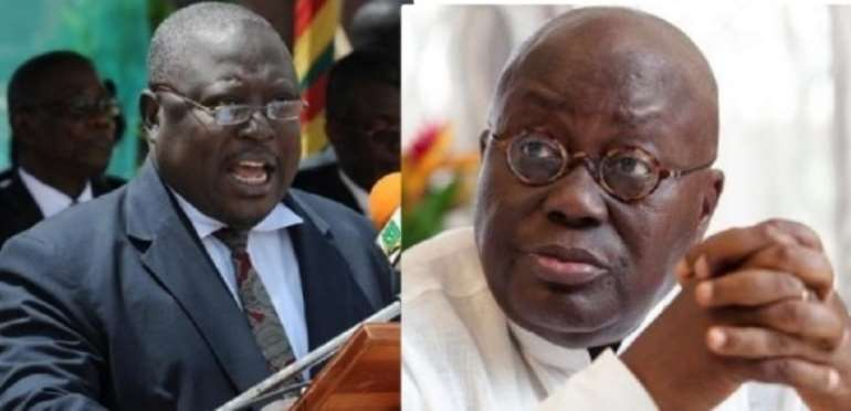I'm Not Your Poodle, You Were A Judge In Your Own Court Usurping My Functions – Amidu Tells Akufo-Addo
