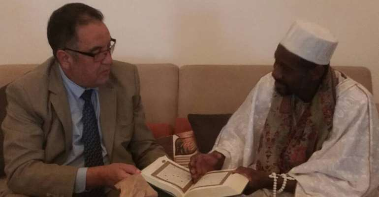 Morocco Envoy Fetes President And Supreme Successor Of The Tijaniyya Muslims Of Ghana