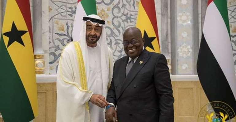 Akufo-Addo Seals 5 Agreements In Abu Dhabi