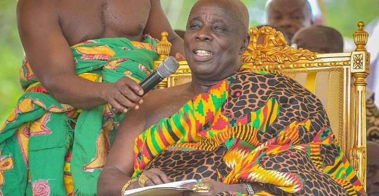 Referendum: Okyenhene Advocates For 'Yes' Vote