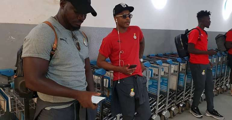 Black Stars Flying Back To Ghana Today With Players Set To Return To Clubs [VIDEO]