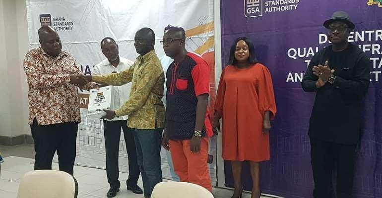 GSA Presents Copies Of Building Code To MMDAs In Accra
