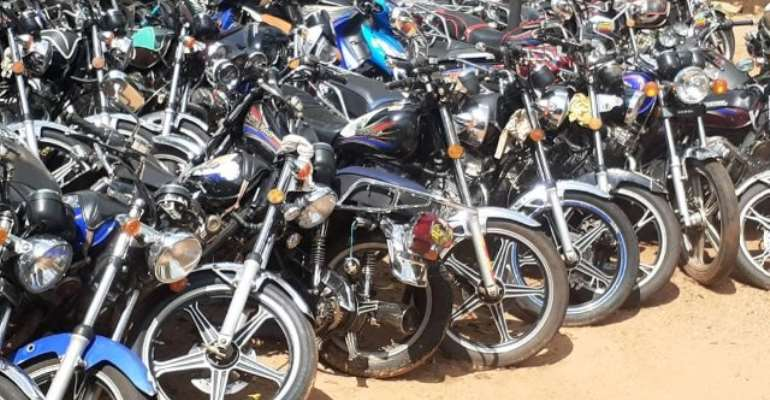 Owners of impounded motorbikes have been asked to register and insure their bikes, and present the documents at the police station for their bikes.