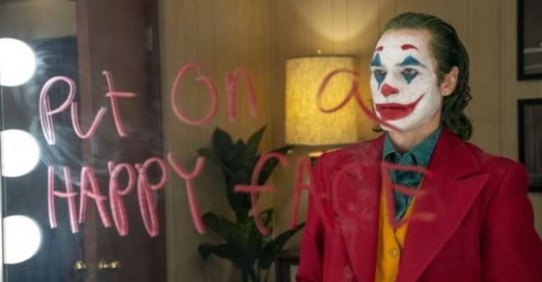 Joaquin Phoenix plays the title character in Joker