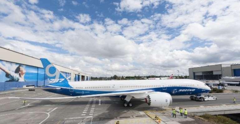 Ghana, Boeing sign MoU For Three 787-9 Dreamliner Jets
