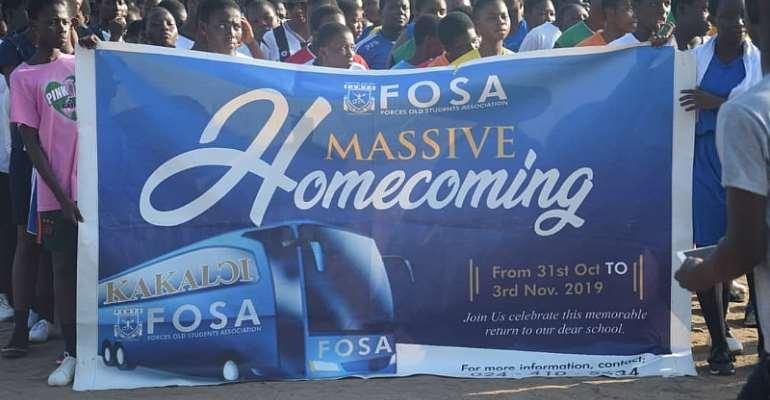 FOSA Celebrates Maiden Homecoming