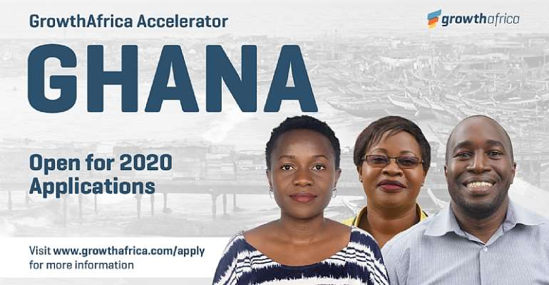 Igniting business growth in West Africa as GrowthAfrica expands into Ghana and opens applications to the 2020 cohort.