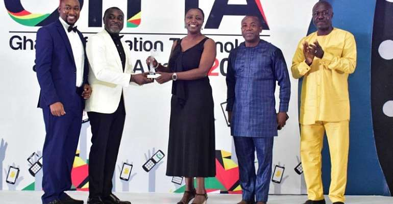 MTN Ghana Inducted Into CIMG Hall Of Fame, With Nine Awards In One Night