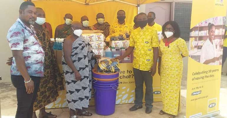 COVID-19: MTN Supports Two Traditional Authorities
