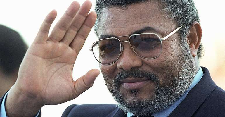 """""""J. J. Rawlings Has Written His Name In Gold""""  — A Tribute From The People's Democratic League"""