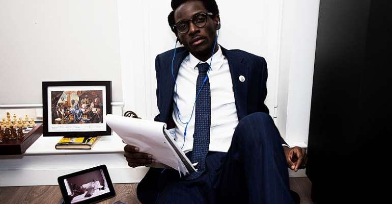 Meet Ghanaian Youth Activist V. L. K. Djokoto