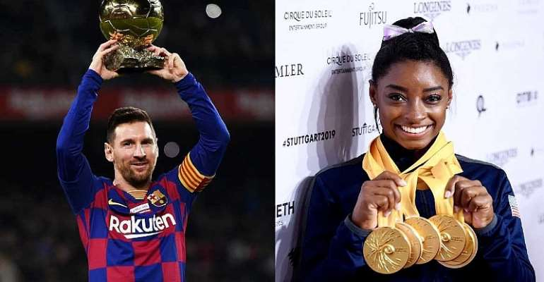 Simone Biles And Lionel Messi The Best Athletes Of 2019