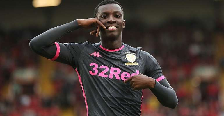 Arsenal Ends Eddie Nketia's Loan Spell At Leeds United