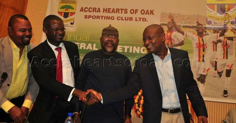 Ekow Amoasi Writes: Twenty Coaches In The Last Decade? Is Hearts of Oak Such An Unambitious Club?