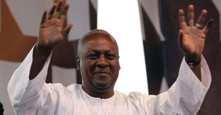 God Wants Me For Ghana In 2020 ― Mahama Prayers At 31st Night