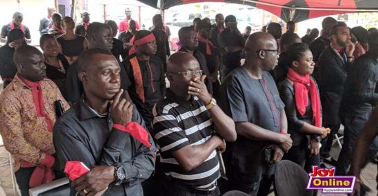 KABA Demise: Multimedia Group Solemnly Holds Memorial Service