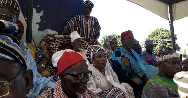 Yagbonwura Tuntumba Boresah Call For Peace In The Savannah Region