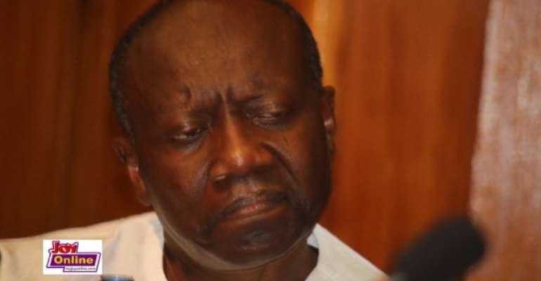 Finance Minister Ken Ofori Atta delivered the budget statement in Parliament.