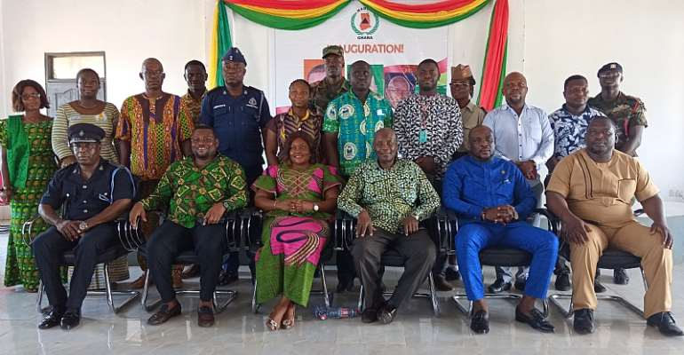 NADMO Disaster Management Committees Inaugurated At Sege