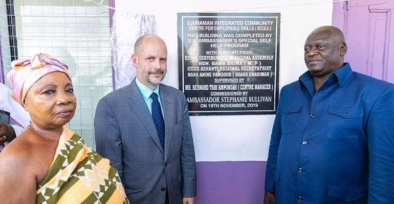 U.S. Deputy Chief Of Mission Travels To Ashanti Region To Promote USA-Ghana Partnerships