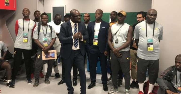 GFA Boss Kurt Okraku Urges Black Meteors To Grab Final Chance To Qualify For 2020 Olympic Games