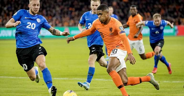 Myron Boadu Scores On Debut For Netherlands As They Thump Estonia 5-0
