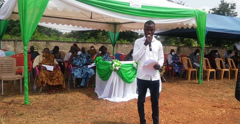 Akatsi South: Assembly Member Commend Residents For Personal Initiatives In Atsiekpi