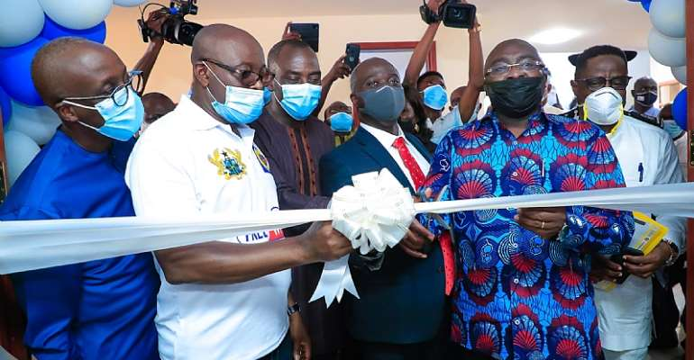 Accra: Bawumia Commissions Free Wi-Fi Project For Tertiary Institutions