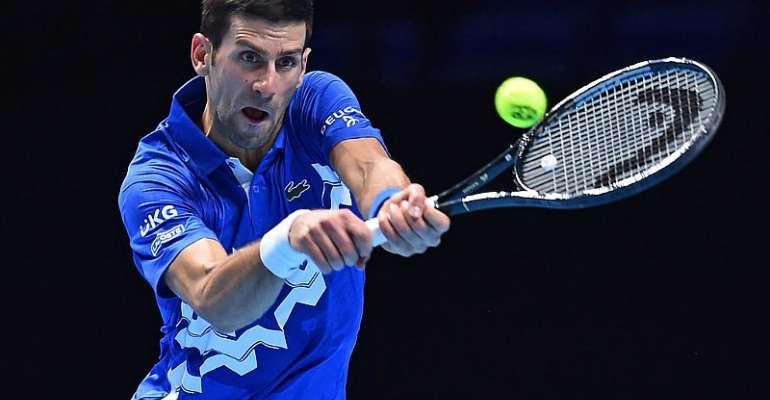 Djokovic dispatches Zverev to advance to semis at ATP Finals