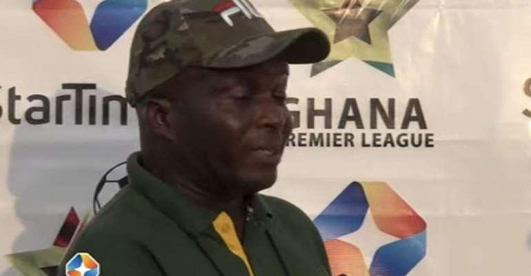 Ebusua Dwarfs head coach Ernest Thompson