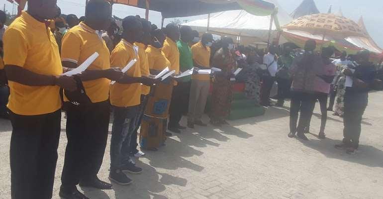 Dormaa East: Dormaa Area Cocoa Farmers' Cooperative Union Inaugurated