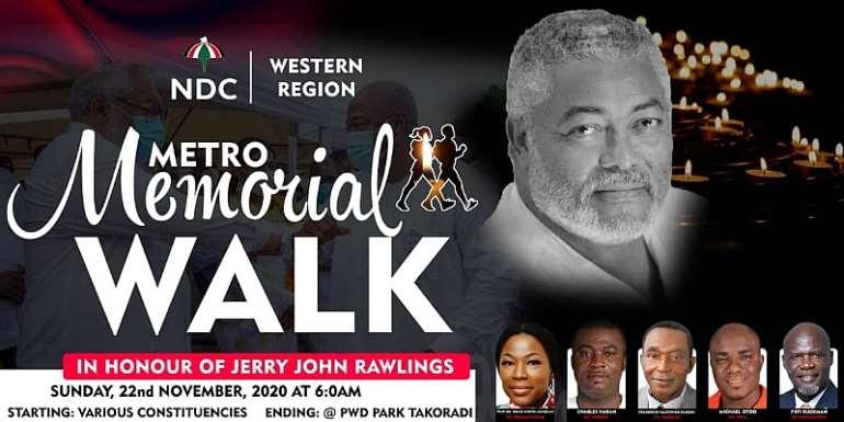 Western Region NDC Mourns Founder JJ Rawlings