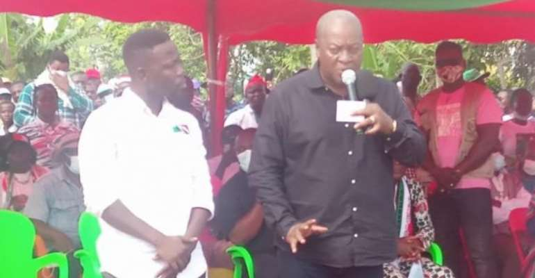 Election 2020: Don't Vote Skirt And Blouse — Mahama Cautions NDC Supporters