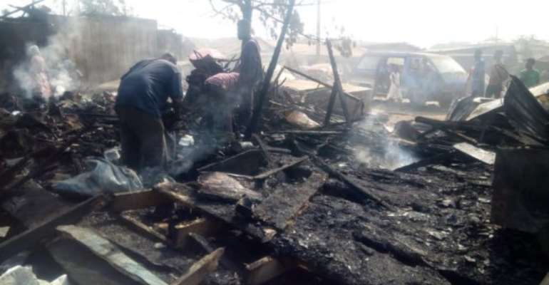 74-Year-Old Tailor Burnt To Death In Asamankese