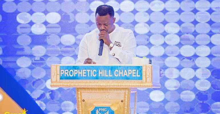 You'll Be Shot Like Your Late Wife — Prophet Nigel Gaisie Warns Chris Attoh [Video]