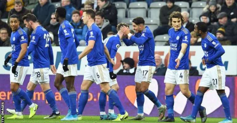 PL: Leicester Brush Aside 10 Man Newcastle