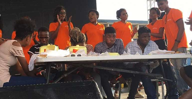 Black Friday: Jumia Food Shuts Down Music Concert with Eating Competition