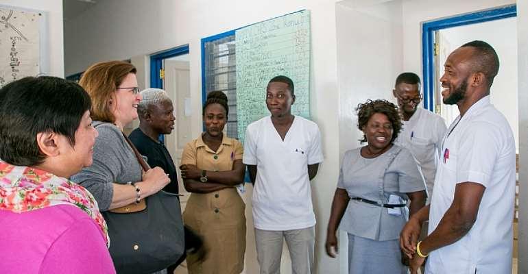 USAID Deputy Assistant Administrator For Global Health Bureau Visits Ghana