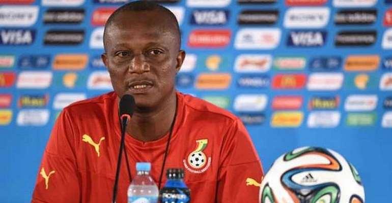 Ghana head coach James Kwesi Appiah