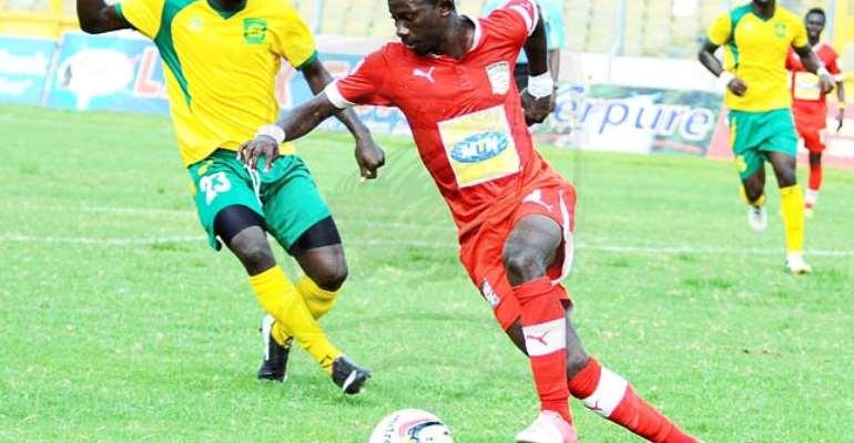 Kotoko Midfielder Jordan Opoku Blames Management For Clubs Problems