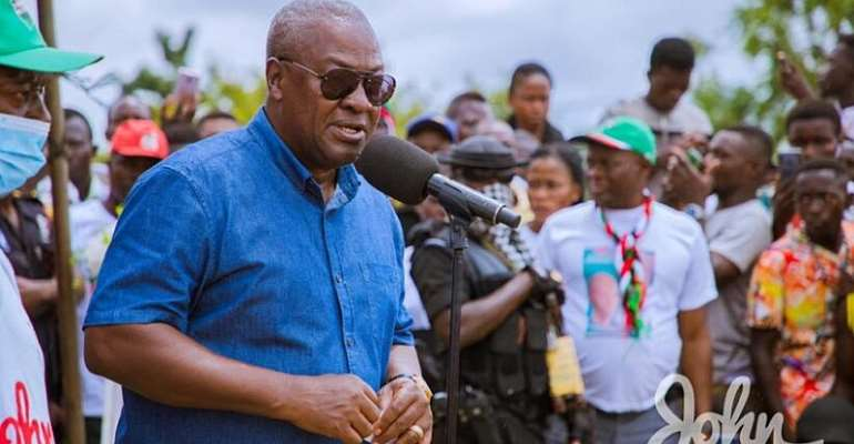 I'll Implement Free Primary Healthcare Within A Year – Mahama