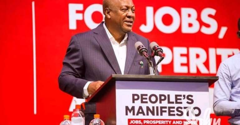 Am Focused To Deliver 1m Jobs – Mahama
